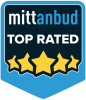 Mittanbud Top Rated logo